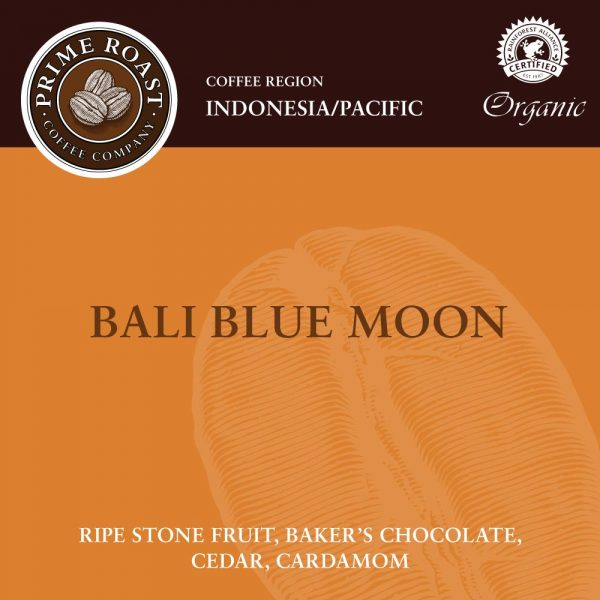 Bali Blue Moon Light Coffee Prime Roast
