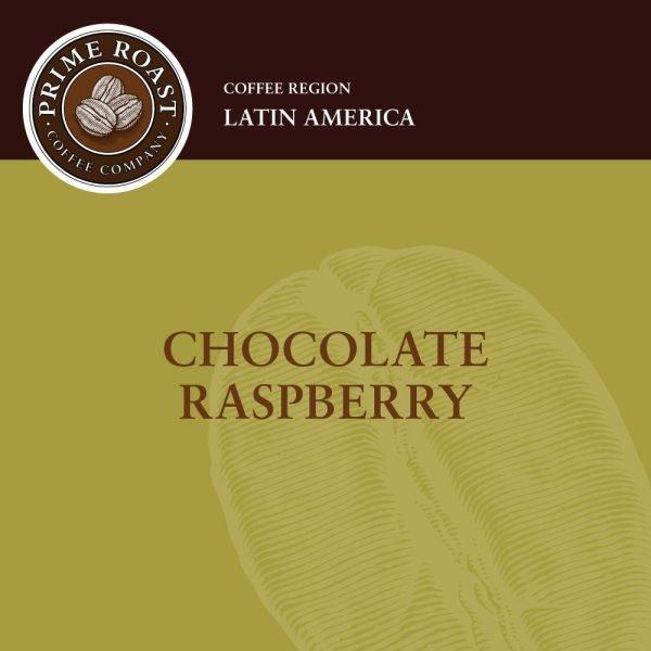 Chocolate Raspberry Flavored Coffee Prime Roast Keene NH