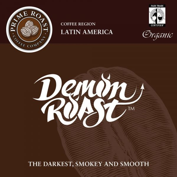 Demon Roast Dark Coffee Prime Roast Keene Nh