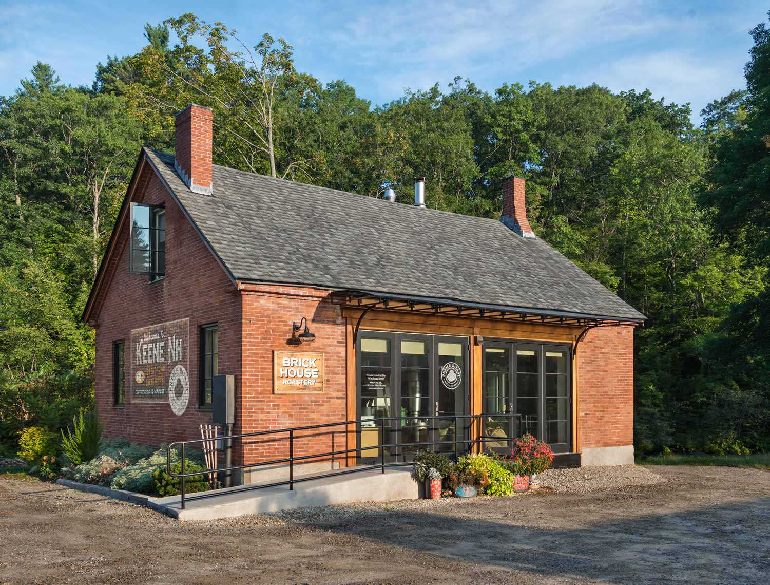 The Brick House Roastery in Keene New Hampshire