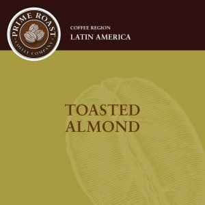 Toasted Almond Flavored Coffee Prime Roast Keene NH