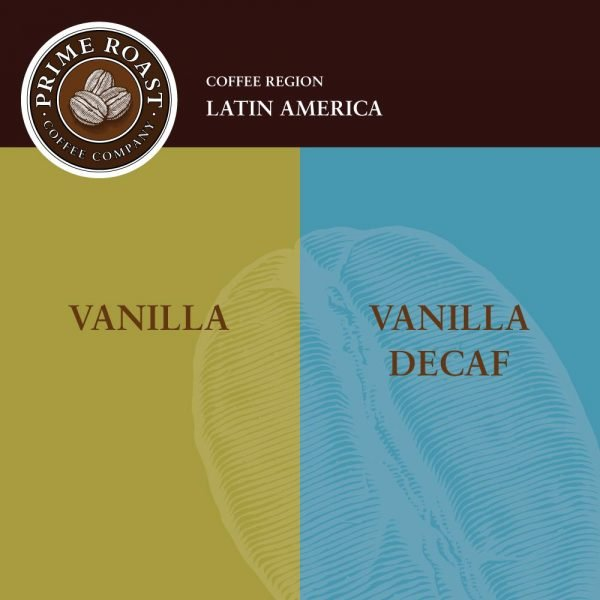 Vanilla Flavored Coffee Prime Roast Keene NH