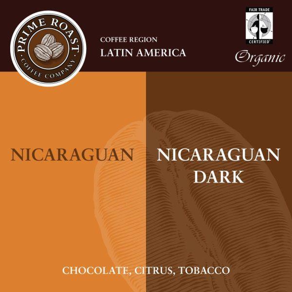 Nicaraguan Medium and Dark Coffee Prime Roast Keene Nh