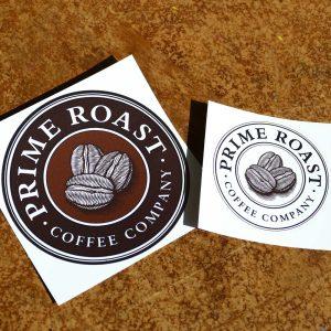 Prime Roast Stickers