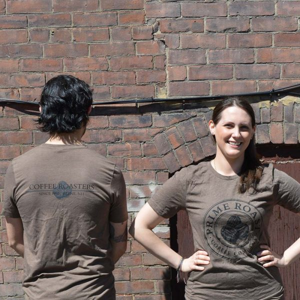 Unisex Prime Roast Shirt Front and Back