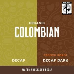 Colombian Medium and Dark Decaf Coffee from Prime Roast in Keene