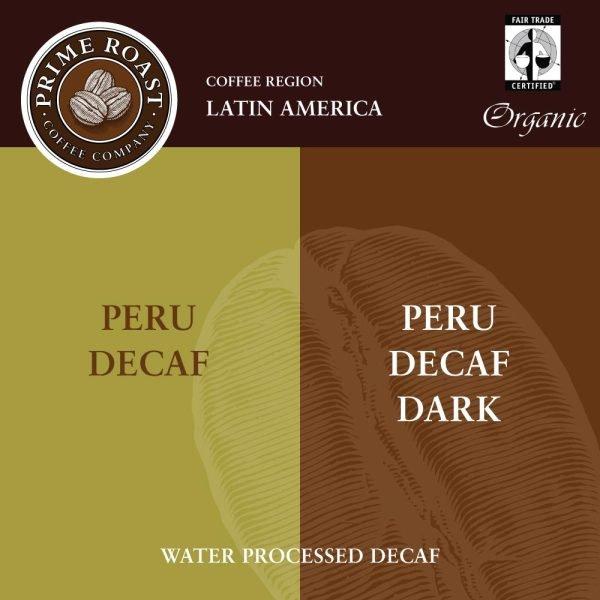 Peru Decaf Medium and Dark Roast from Prime Roast in Keene, NH
